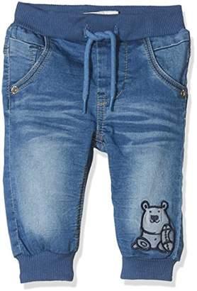 Name It Baby Boys' Nbmromeo Dnmbajako 2021 Pant W Art Jeans (Medium Blue Denim)