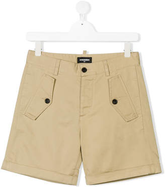 DSQUARED2 Teen chino shorts