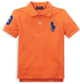 Ralph Lauren Little Boy's Cotton Mesh Polo Shirt