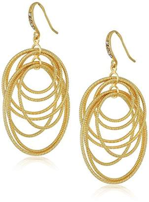ABS by Allen Schwartz Summer Nights Multi-Ring Drop Earrings