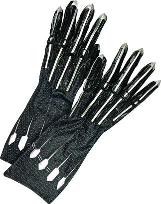 Rubie's Costume Co Rubie's Men's Deluxe Black Panther Gloves/Claws Adult