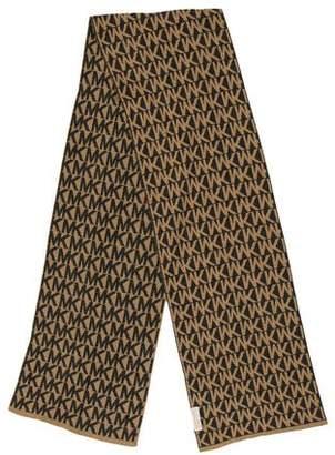 MICHAEL Michael Kors Monogram Fine Knit Scarf