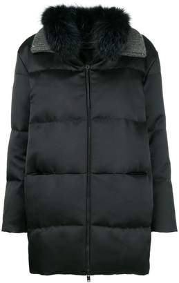 Fabiana Filippi padded zipped coat