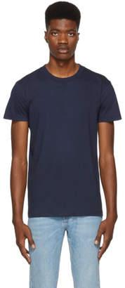 Naked & Famous Denim Denim Blue Ringspun Cotton T-Shirt