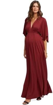 Maternity Long Caftan Dress - Gamay.