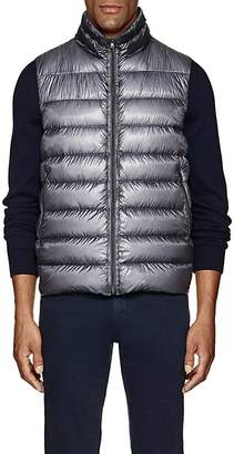 Herno Men's Down-Quilted Ripstop Vest