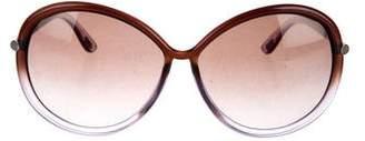 Tom Ford Clothilde Round Sunglasses