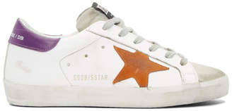 Golden Goose White Superstar Sneakers