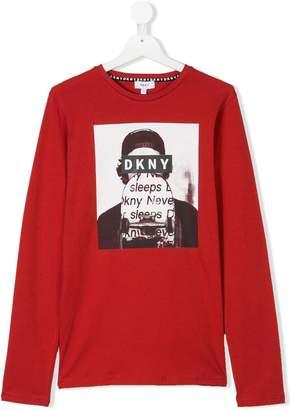 DKNY (ディー ケー エヌワイ) - Dkny Kids プリント Tシャツ