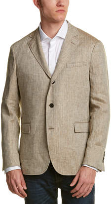 Brooks Brothers 1818 Red Fleece Herringbone Blazer