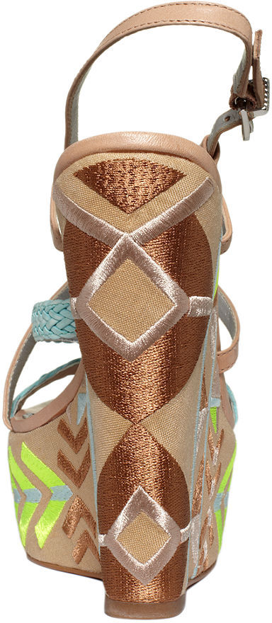 Sam Edelman Circus by Capri Platform Wedge Sandals