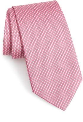 Salvatore Ferragamo Form Print Silk Tie