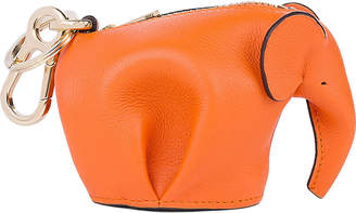 Loewe Elephant leather charm, Candy