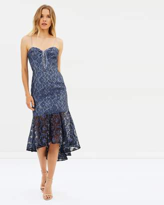 Nicholas Whisper Lace Midi Dress