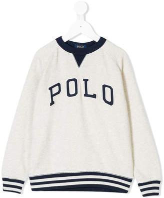 Ralph Lauren appliqué-detail sweatshirt