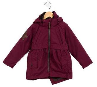 Molo Girls' Hooded Coat w/ Tags