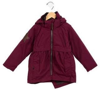 Molo Girls' Hooded Coat w/ Tags