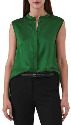 Reiss Lila Sleeveless Silk Blouse