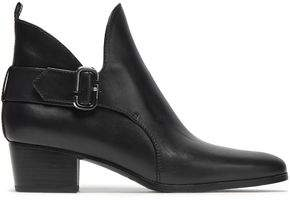 Marc Jacobs Buckled Leather Ankle Boots