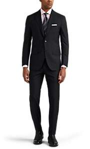 Sartorio Men's PG Worsted Wool Two-Button Suit - Charcoal