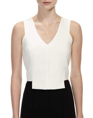 Lana 14k Small Heart Pendant Necklace w/ White Diamond