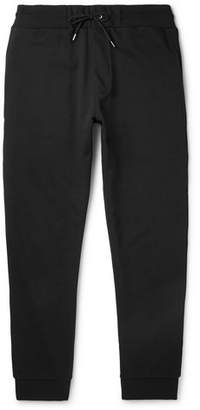 McQ Slim-Fit Logo-Print Stretch-Cotton Jersey Sweatpants