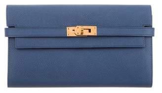 Hermes 2016 Epsom Kelly Longue Wallet