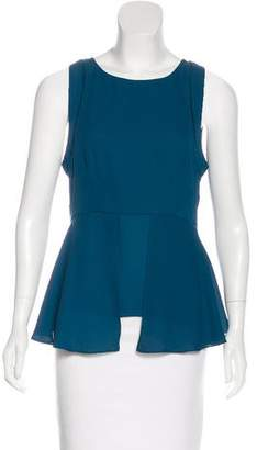 Elizabeth and James Crepe Sleeveless Top