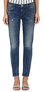Current/Elliott Women's The Selvedge Easy Stiletto Jeans - Dk. Blue