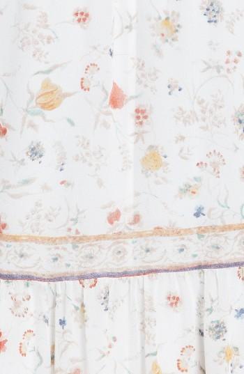 Women's Joie Vernita Popover Bodice Silk Maxi Dress 2