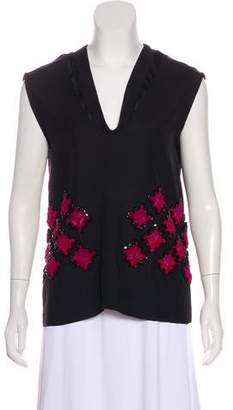 Maiyet Sleeveless Embellished Top