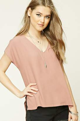 Forever 21 Crepe Woven Top