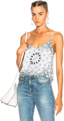 Amiri Silk Tank Top