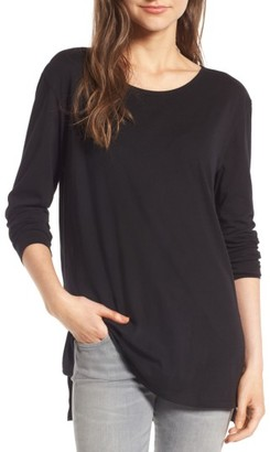 Women's Bp. Side Slit Tee $19 thestylecure.com