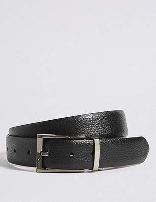 Marks and Spencer Coated Leather Textured Reversible Belt