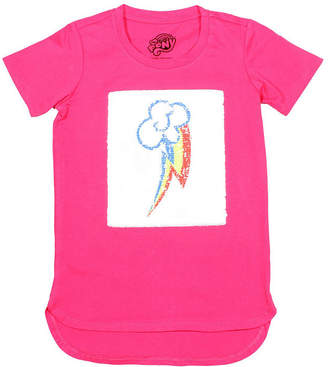 Hasbro Girls Crew Neck Short Sleeve My Little Pony Graphic T-Shirt-Preschool
