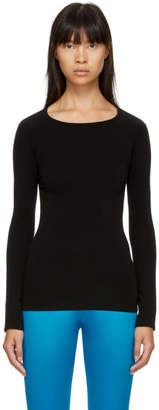 Junya Watanabe Black Long Sleeve T-Shirt