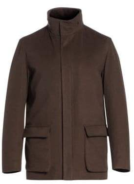 Loro Piana Winter Voyager Cashmere Overcoat