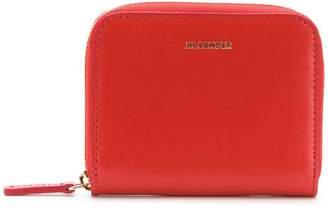 Jil Sander small zip around wallet