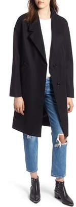 KENDALL + KYLIE Drop Shoulder Midi Coat