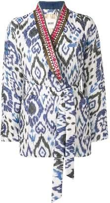Bazar Deluxe aztec print jacket