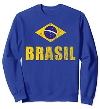 Brasil Sweatshirt Gifts Brazilian Soccer Cup Brazil Jersey