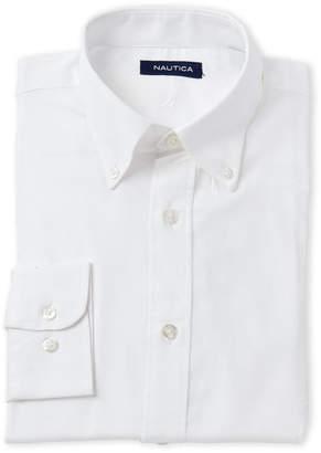 Nautica White Oxford Dress Shirt