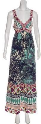 Tibi Silk Sleeveless Maxi Dress