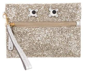 Anya Hindmarch Glitter Eyes Clutch