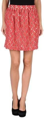 Rose' A Pois Knee length skirts - Item 35233173AN