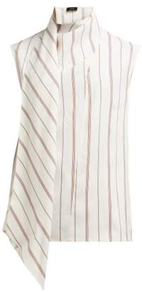 Joseph Birley Striped Blouse - Womens - White Multi