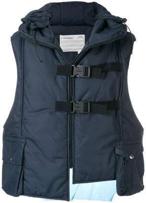 A-Cold-Wall* hooded padded vest