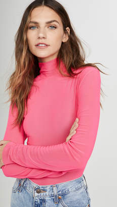 Endless Rose Mesh Turleneck Long Sleeve Tee