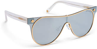 Henri Bendel Winter Aviator Sunglasses